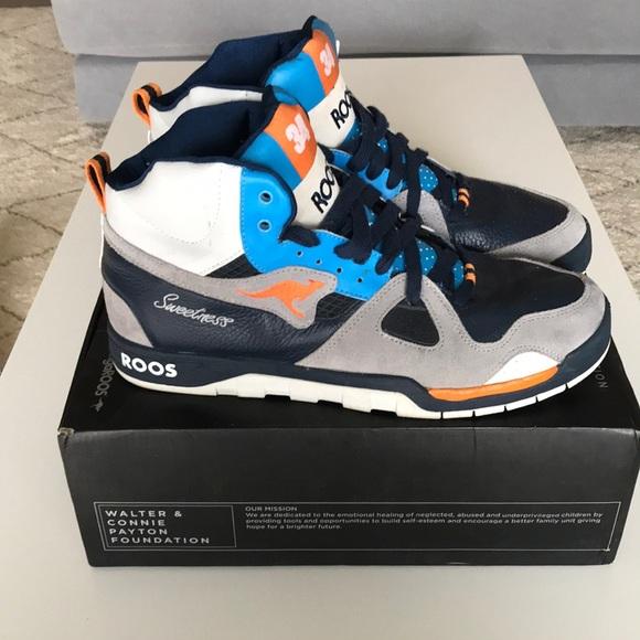 walter payton kangaroos sneakers